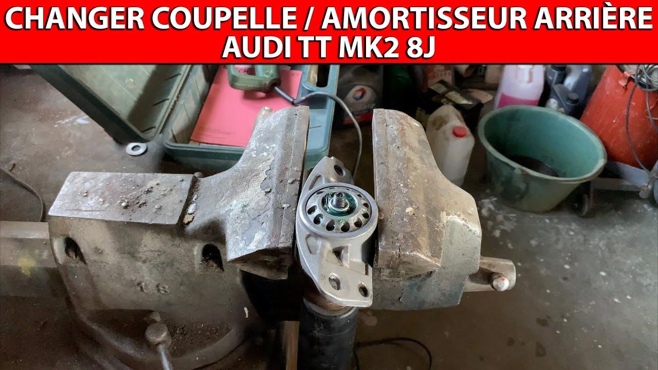 Changer les coupelles et/ou amortisseurs arrière Audi TT MK2 8J