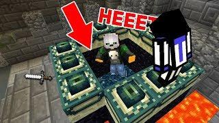 ЧТО БУДЕТ, ЕСЛИ СКИНУТЬ МАНЬЯКА В ЭНДЕР ПОРТАЛ? - Minecraft Murder Mystery