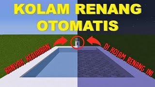 Download Video KOLAM RENANG OTOMATIS di Minecraft | full redstone MP3 3GP MP4