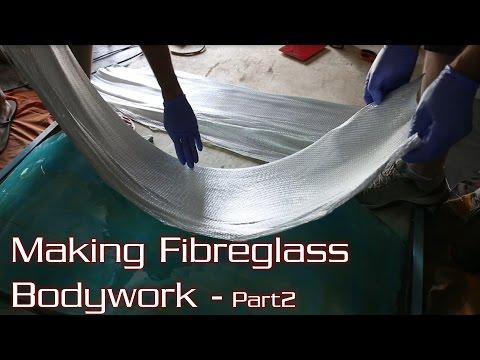 How to Make Fibreglass/Carbon Fibre Race Car Bodywork - Part 2/2