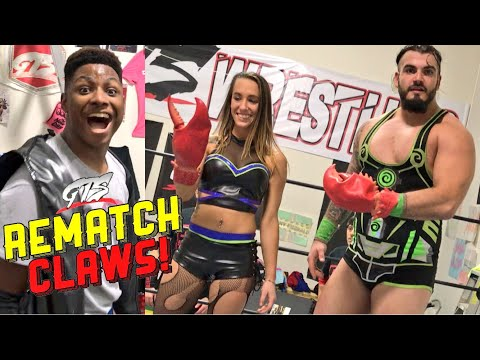 HER HILARIOUS REMATCH CLAWS CHALLENGE! BIG RETURNING GTS STAR!