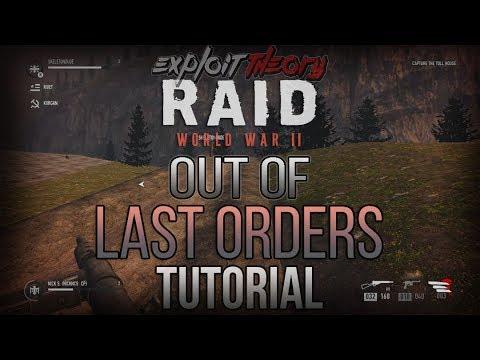 OUT OF LAST ORDERS GLITCH | RAID World War 2 | Tutorial