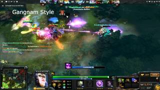dota 2 witch doctor rampage 1vs5