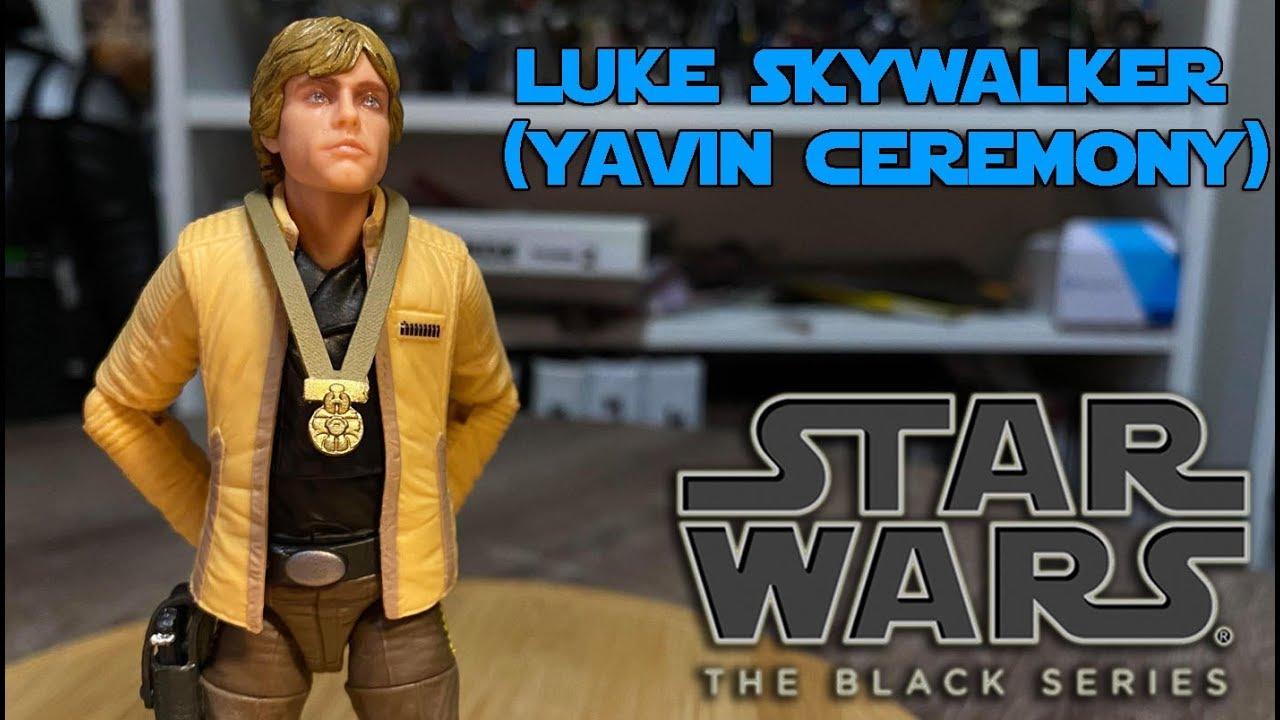 Yavin Ceremony NEW Luke Skywalker Star Wars Black Series 6 inch Figure