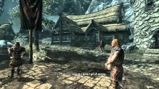 1. Let's Play Skyrim (The Elder Scrolls V Orc Gameplay) - Meet Bullark