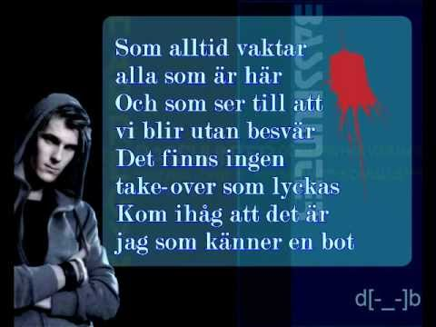 BOTEN ANNA - BASSHUNTER with LYRICS