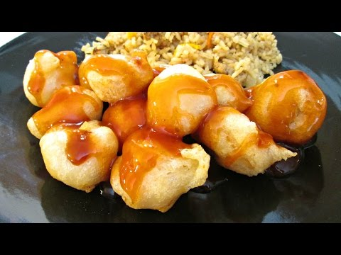 Chinese Fry Batter - Sweet and Sour Pork, Chicken and Honey Shrimp - PoorMansGourmet