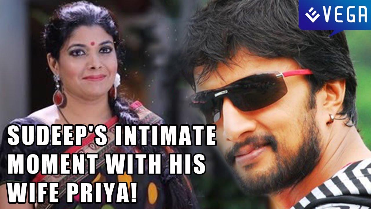 Sudeep's intimate moment with his wife Priya!