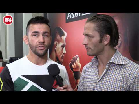 Pedro Muhnoz discusses important win and Daniel Cormier's opponent