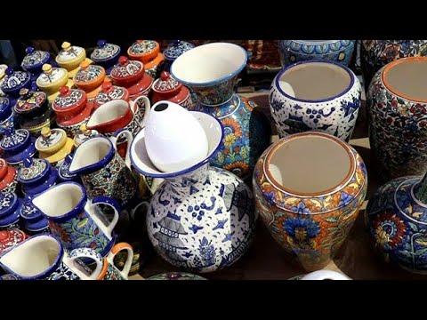 खुर्जा से खरीदें चीनी मिट्टी के खूबसूरत समान // Khurja, Ceremic (chini Mitti) Utensil Manufacturer