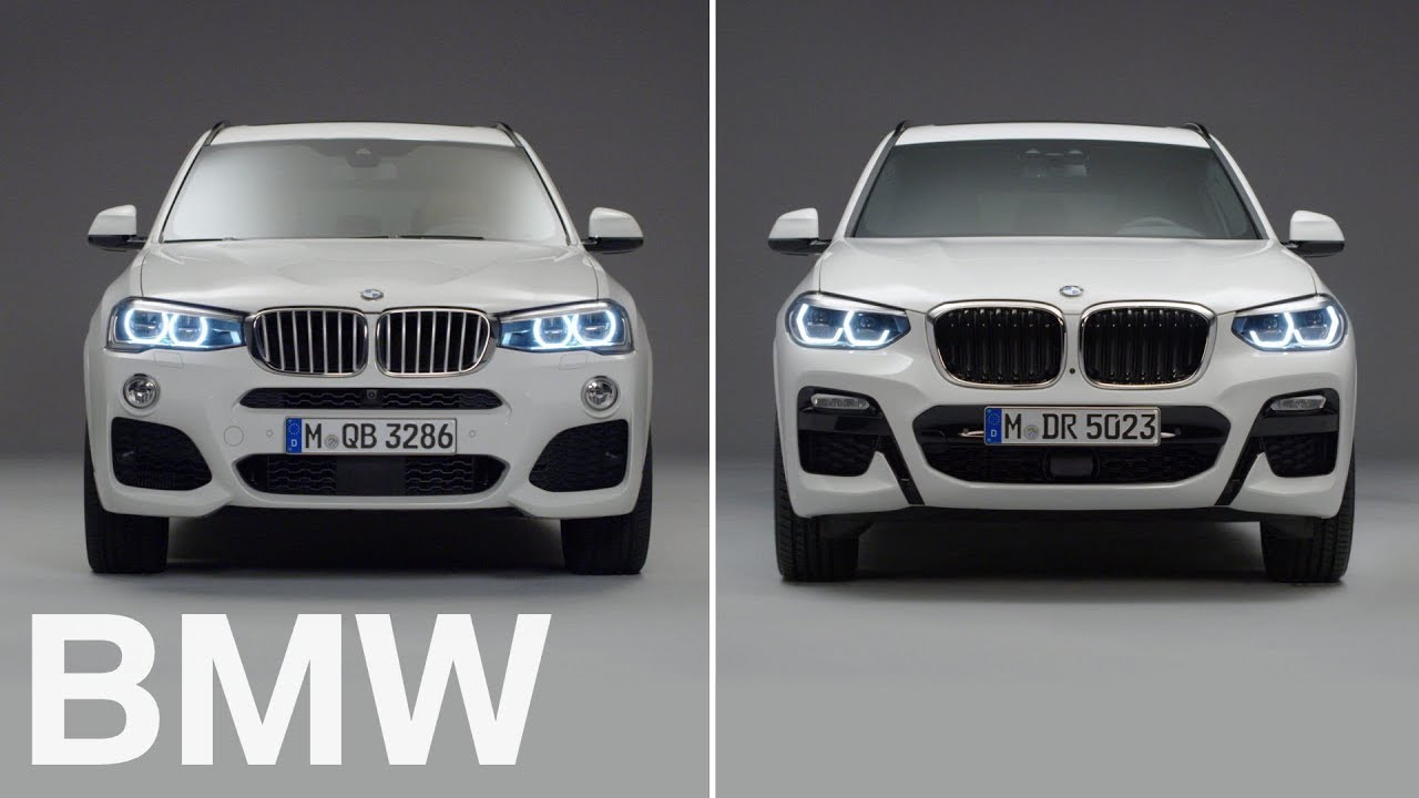 BMW vs BMW : BMW X3 vs X3. 2nd vs 3rd generation. - YouTube