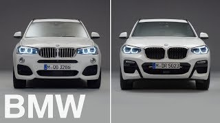 BMW vs BMW : BMW X3 vs X3. 2nd vs 3rd generation.
