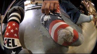 Skateboarding In Socks: The Lost Stance Wear Test