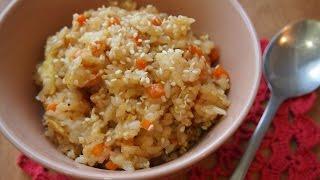Корейская кухня: поккымбап (볶음밥) или жареный рис