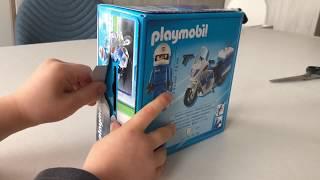 Police motorcycle Unpacking Playmobil 6923