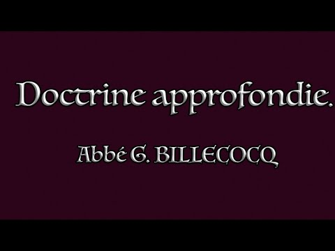 Cours 10 - La perfection divine (Q4) Le bien en général (Q5) - Abbé G. BILLECOCQ - 19/01/2021