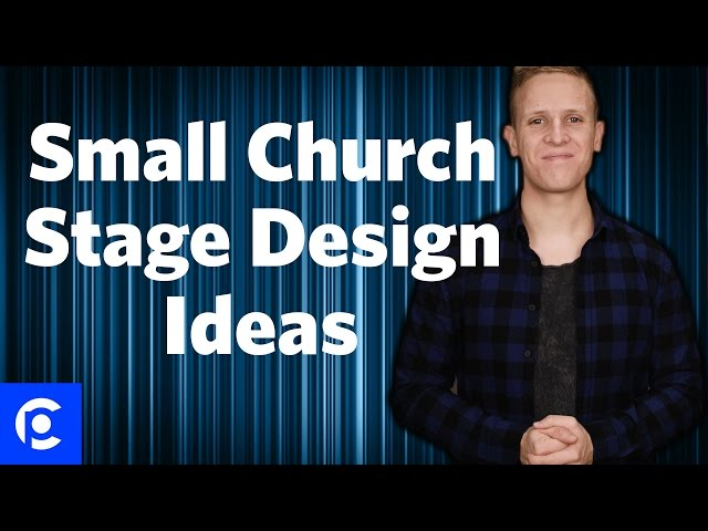 3 small church stage design ideas pro church tools