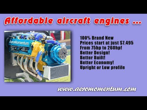 Aeromomentum, Aeromomentum Suzuki Aircraft Engine, affordable alternative aircraft engines.