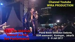 Download Lagu Live Performance Trio The Marga - Pesta Bolon Simbolon Sedunia mp3