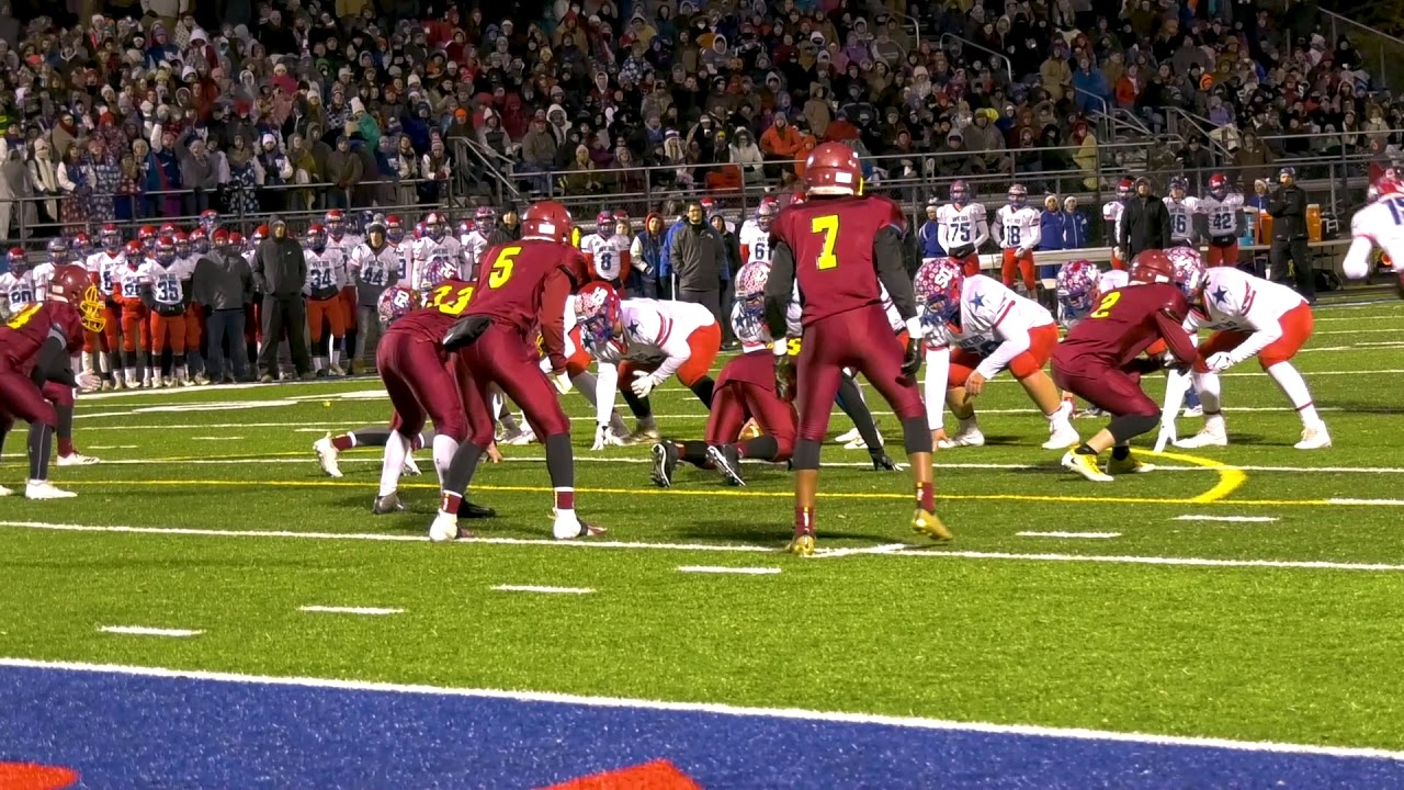 Scecina Memorial Vs Western Boone Football State Champs Indiana Youtube