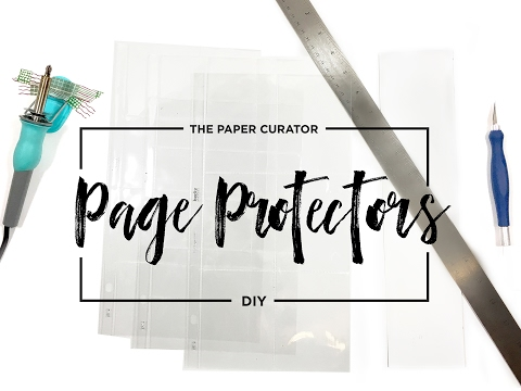 Custom Page Protectors Using the Fuse Tool