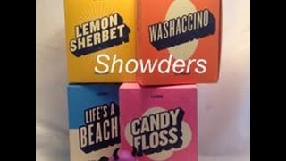 Lush Oxford Street Haul -Showders & Demo-Candy Floss, Lemon Sherbet, Life's a Beach and Washaccino