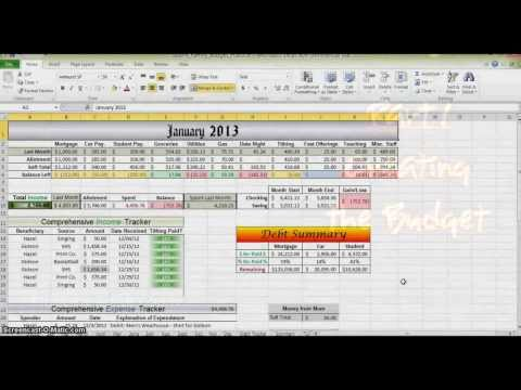 how-to-make-a-budget-in-excel---part-1