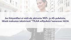 Elisan WiFi- ja 4G-puheluiden käyttöohjeita