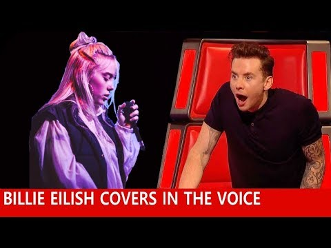 BEST BILLIE EILISH Auditions In The Voice 2020