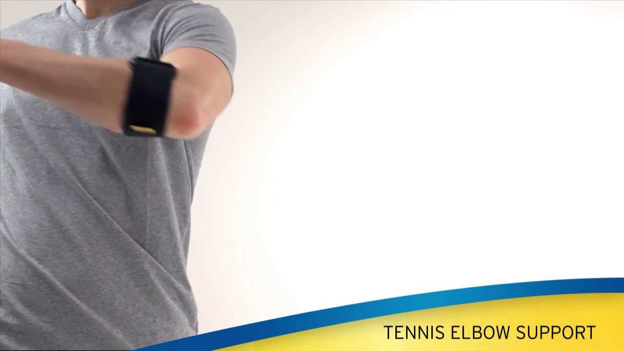 Look - Elbow futuro support how to wear video