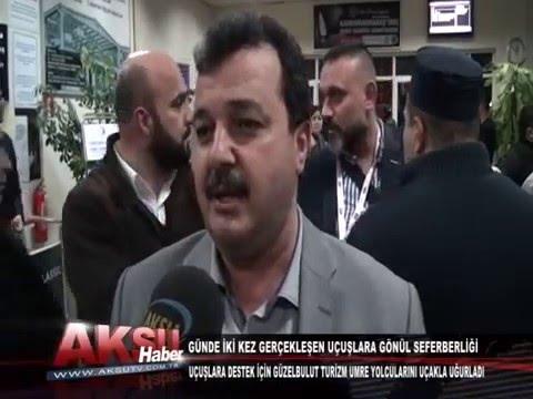 10.04.2015 Kahramanmaraş Havalimanı Umre Yolcuları Uğurlama