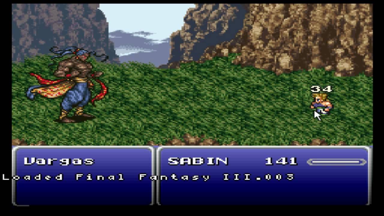 Final Fantasy 6 Rom final fantasy 6- how to do blitz