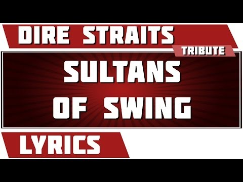 Sultans Of Swing - Dire Straits tribute - Lyrics
