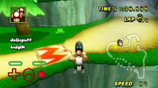 [MKW TAS] Mushroom Gorge (No Glitch) Flap - 30.073 by Jellopuff and LuigiM