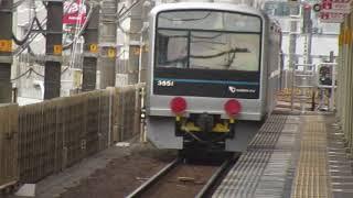 小田急3000形甲種輸送EF652068静岡駅通過