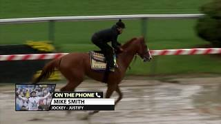 Mike Smith discusses Justify's chances in The Preakness