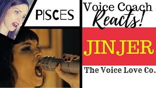 Voice Coach Reacts | Jinjer | PISCES Live | Christi Bovee