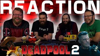 Deadpool, Meet Cable Trailer REACTION!!