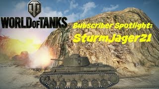 World of Tanks - Subscriber Spotlight SturmJager21 - KV-85 Ace Tanker