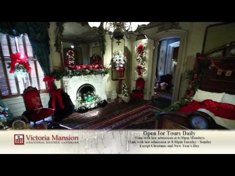 Victoria Mansion Holiday 2016