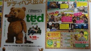 テッド (2013) (B) 映画チラシ 2013年1月18日公開 【映画鑑賞&グッズ探...