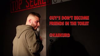 Gambar cover KAE KURD: GUY'S DON'T BECOME FRIENDS IN THE TOILET