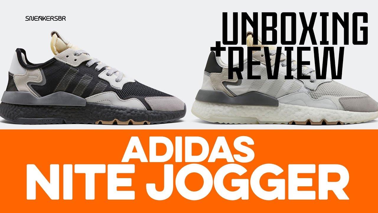 653e3e792a4d5a UNBOXING+REVIEW - adidas Nite Jogger - YouTube