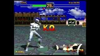 Fighters Megamix (Sega Saturn) 1P Mode as Kage