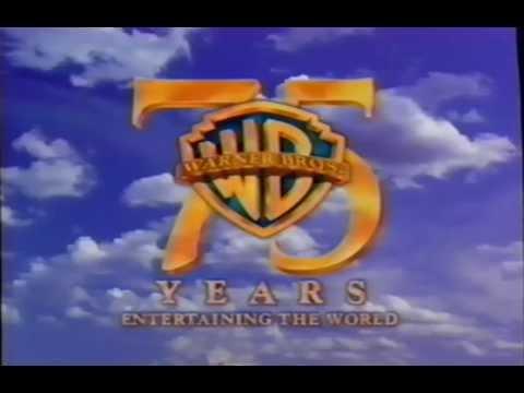 Warner Bros - 75 Years Entertaining the World (1998) Company Logo (VHS Capture)