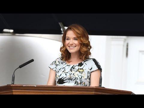 Sarah Drew '02 Speaks at UVA's 2016 Valediction