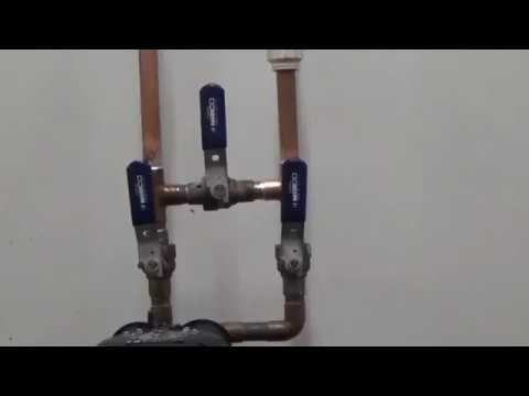 How To Put Your Kinetico Water Softener On Bypass