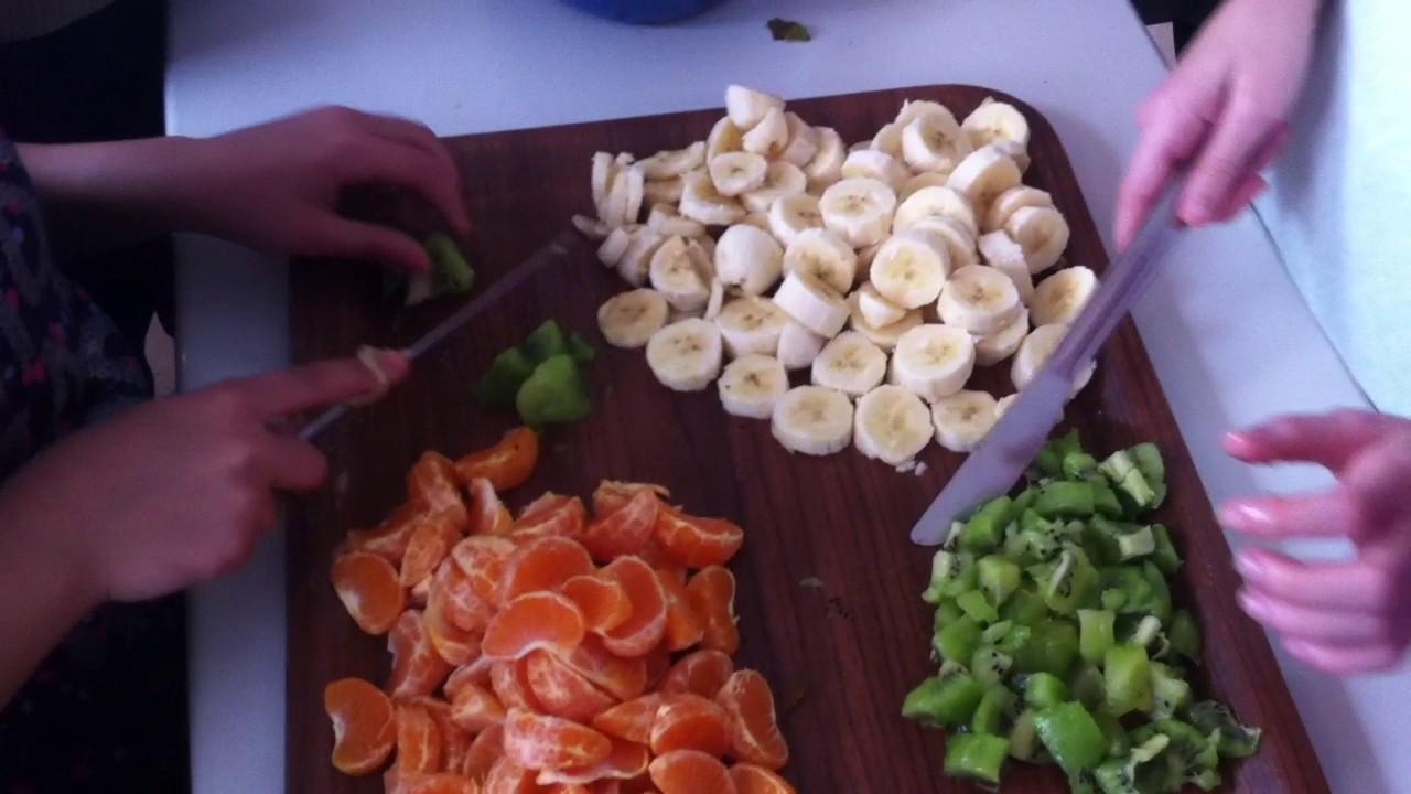 Meyve salatası nasıl yapılır