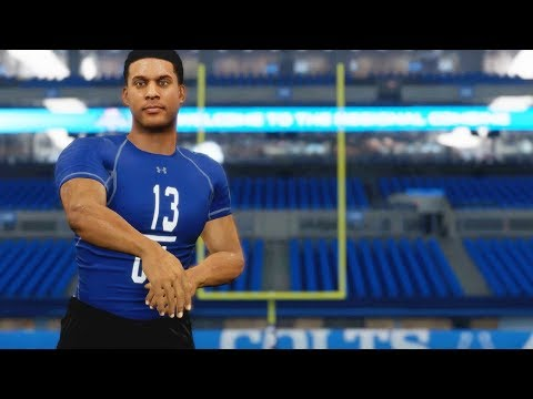 Madden 18 Longshot Walkthrough - Draft Combine Ep.2