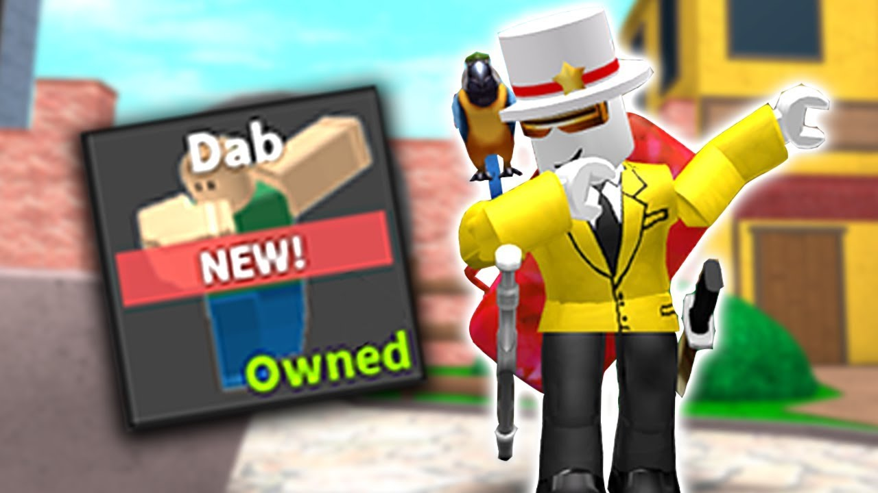 Buying New Dab Emote In Mm2 Youtube